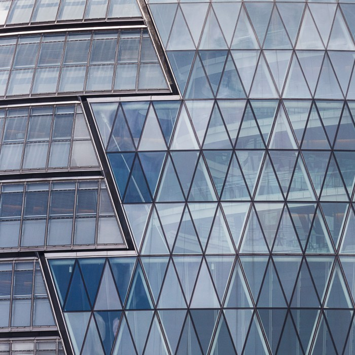 Facade of City Hall, the headquarters of the Greater London Authority designed by Norman Foster