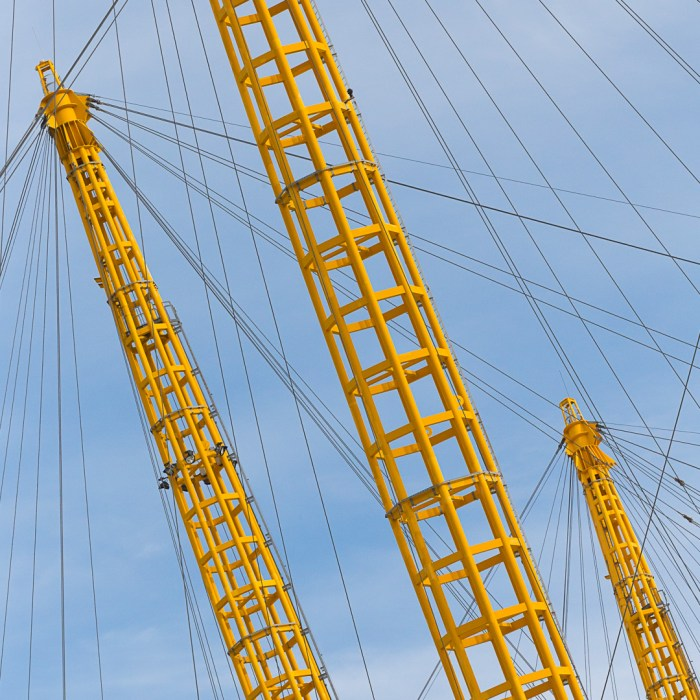 O2, London formerly the Millennium Dome by Richard Rogers Architects