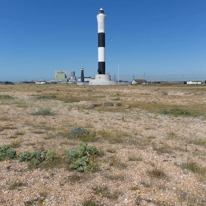 New lighthouse, Dungeness.