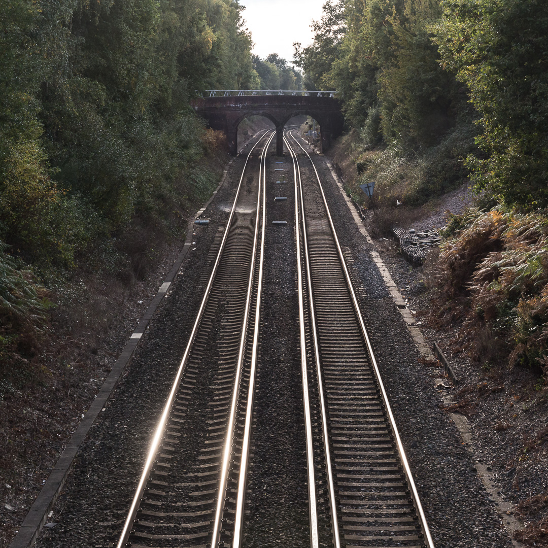 Hamble station, Hampshire.