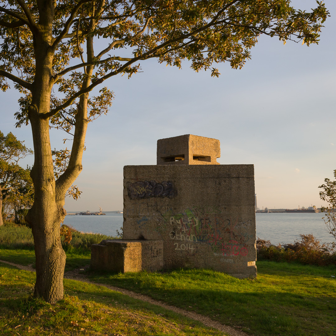 Ryley & Ethan / WW2 EXDO (Extended Defence Officer) Post, Southampton Water, Hampshire.