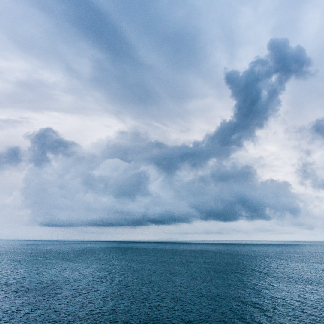 Isle of Wight seascape, Dorset.