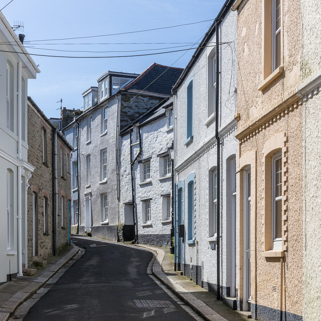 Fowey, Cornwall.