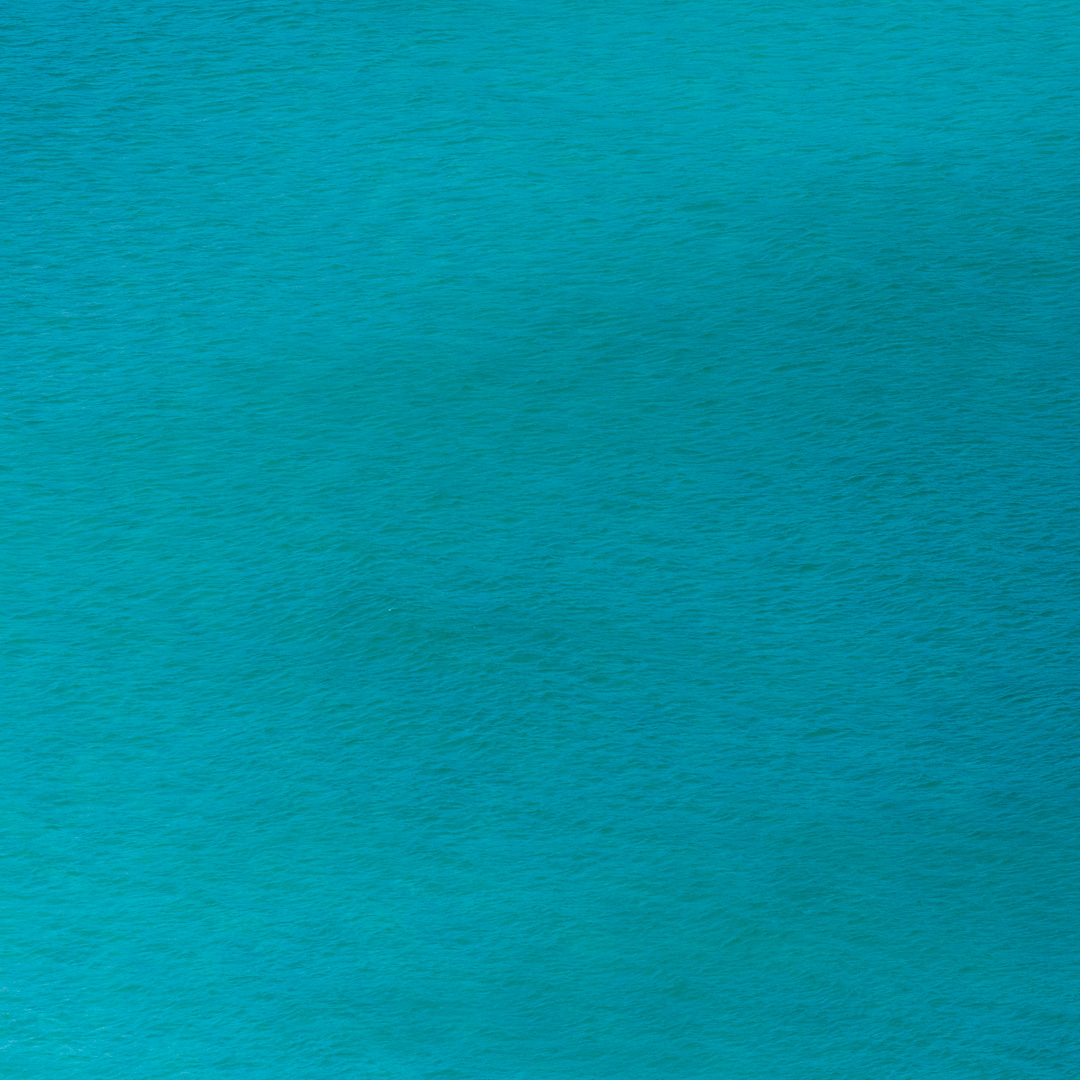 Turquoise seascape, Pendower Cove, Cornwall.
