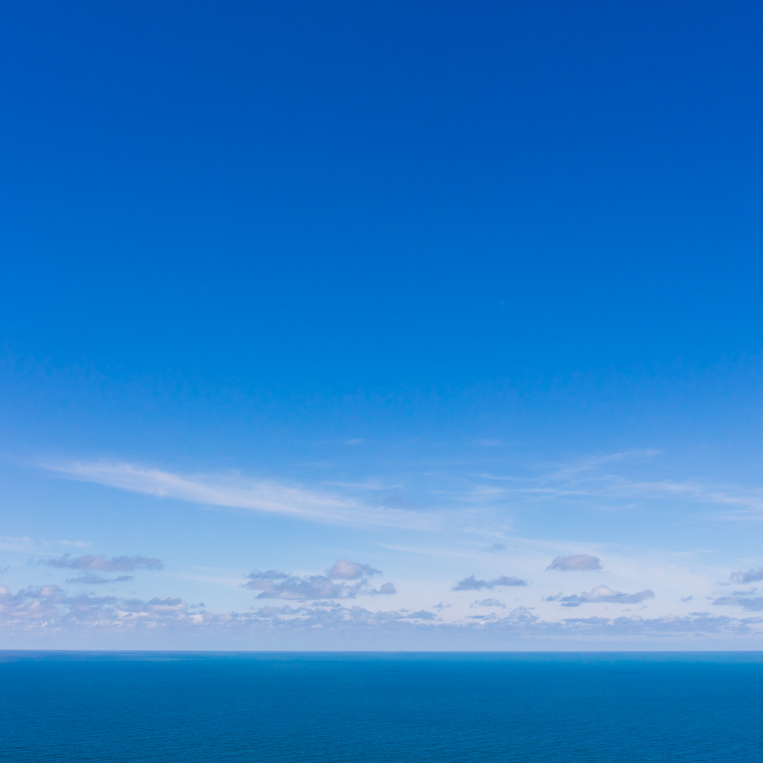 Seascape from High Cliff, Cornwall.