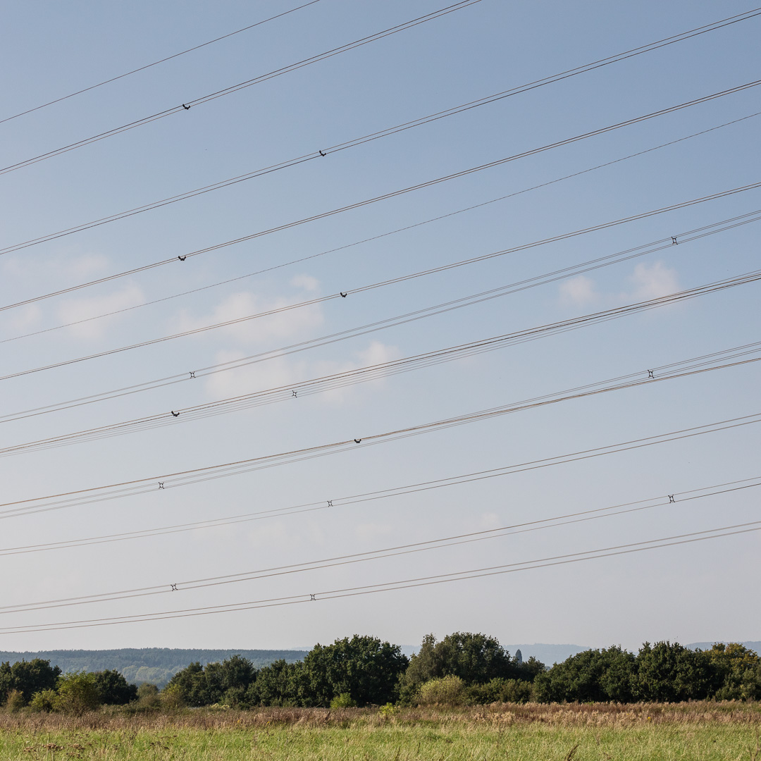 Cable Sky, Caldicot Level, Gwent.