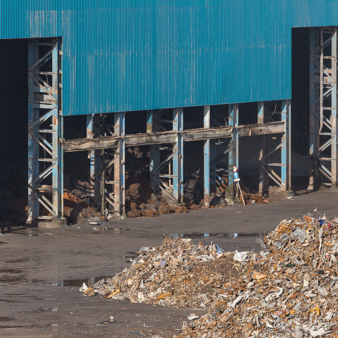 Scrap Steel I, Celsa Steel, Tremorfa, Cardiff, Gwent.