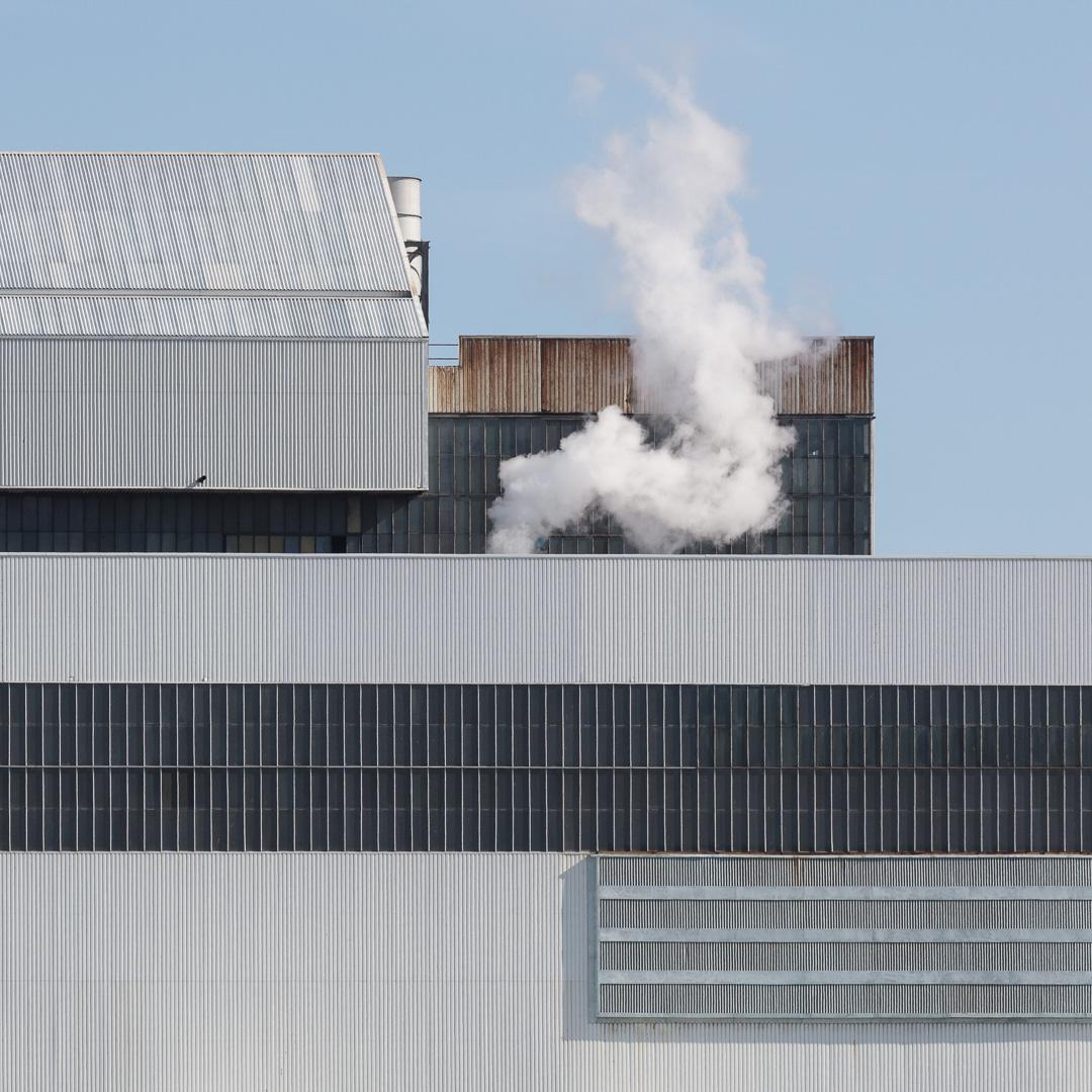 Aberthaw B coal-fired Power Station II, Glamorgan.