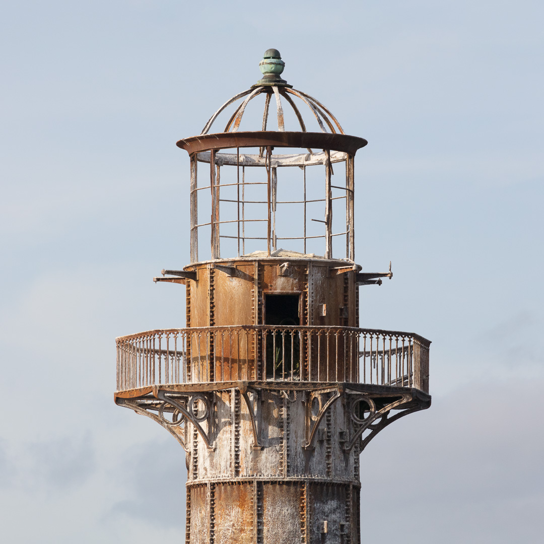 Whiteford Point Lighthouse I, Gower, Glamorgan.