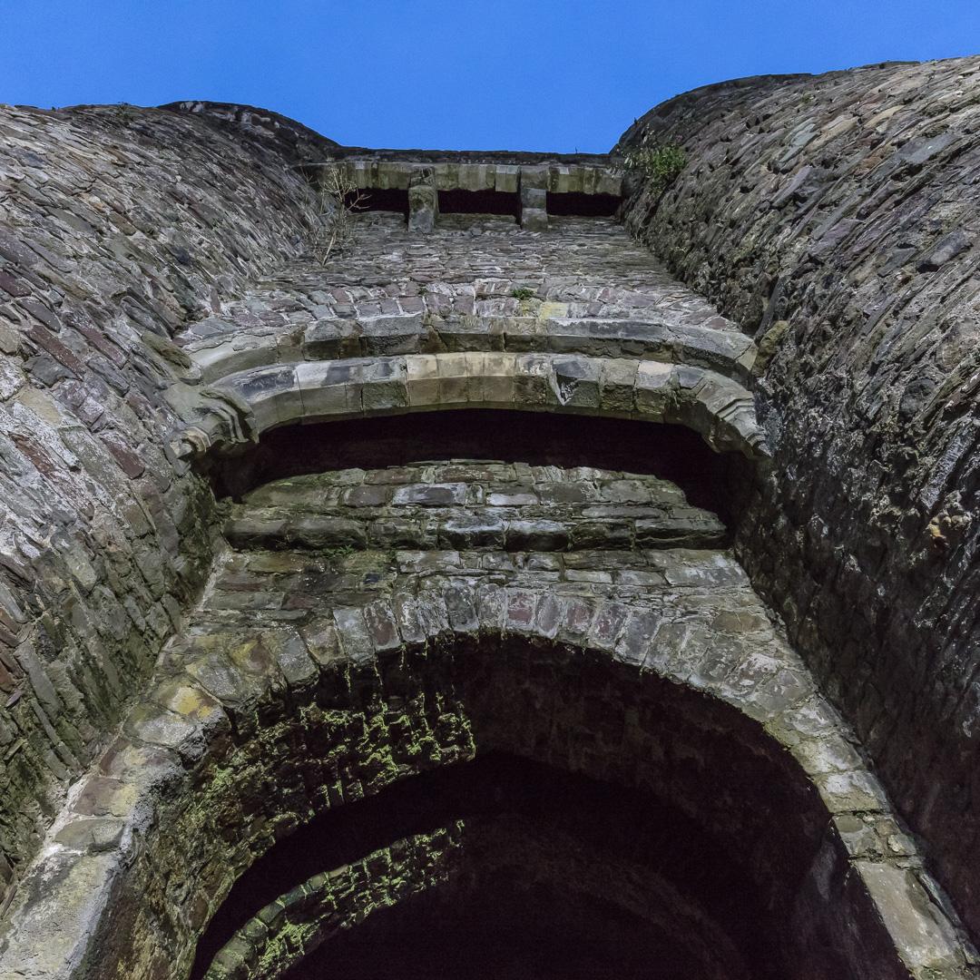 Gatehouse, Carmarthen Castle, Gwent.