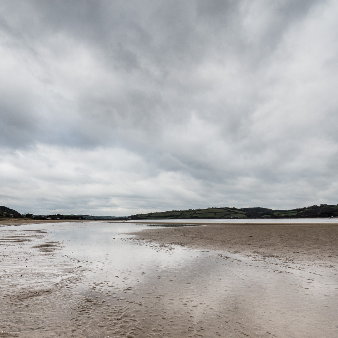 River Towy from Llansteffan, Gwent.