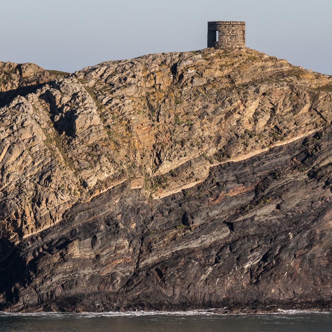 Abereiddy Tower, Llanrhian, Pembrokeshire.