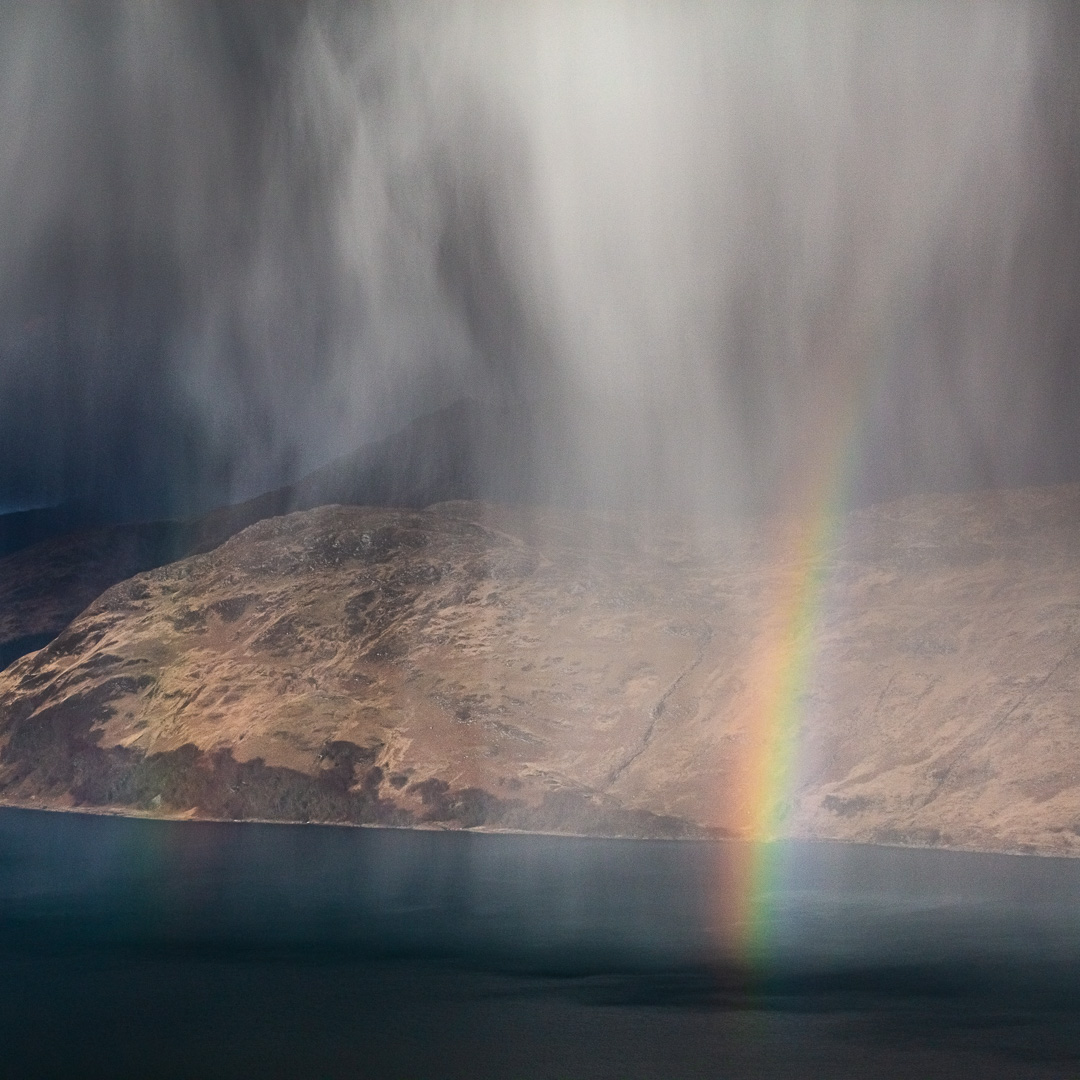 Hailbow over Loch Nevis and Knoydart III, North Morar, Scotland.