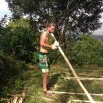 Preparing the Bamboo