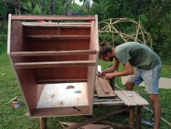 Building a Solar Food Dehydrator