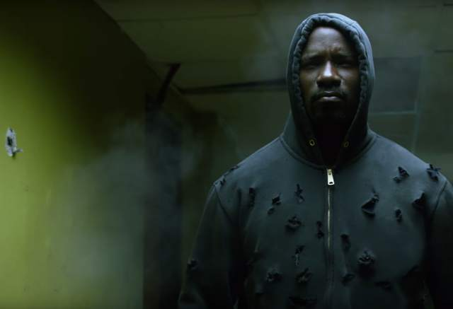 Mike Colter as Luke Cage. Courtesy of Netflix and Marvel