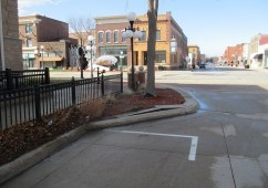 The spot where I used to park at Second and Willis was beautified.