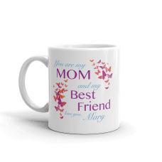 personalized mother mug with text
