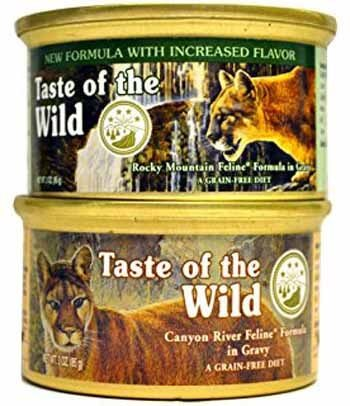 taste of the wild cat food ingredients