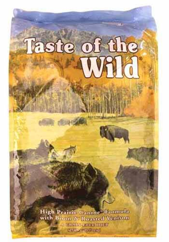 taste of the wild dog food recall