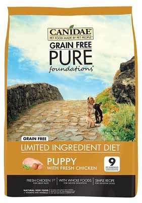 large breed puppy food grain free