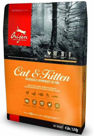 best dry kitten food