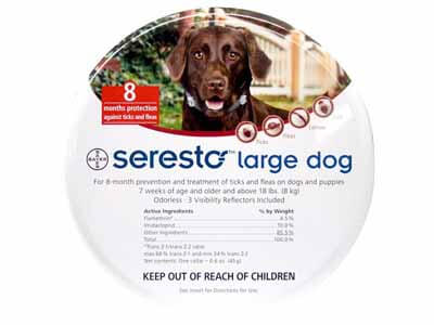 seresto flea collar reviews for dogs