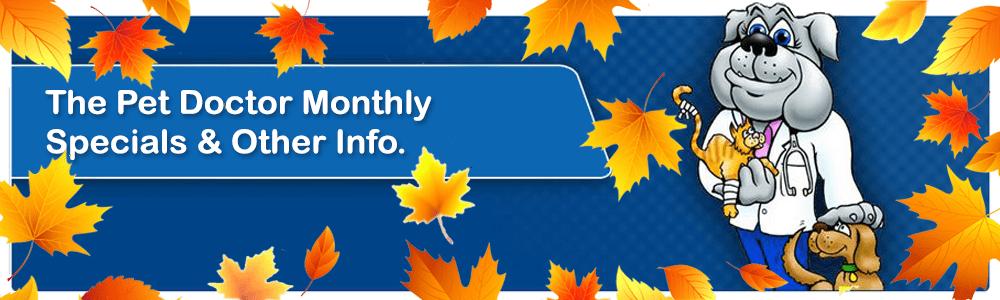 September Specials Page Header