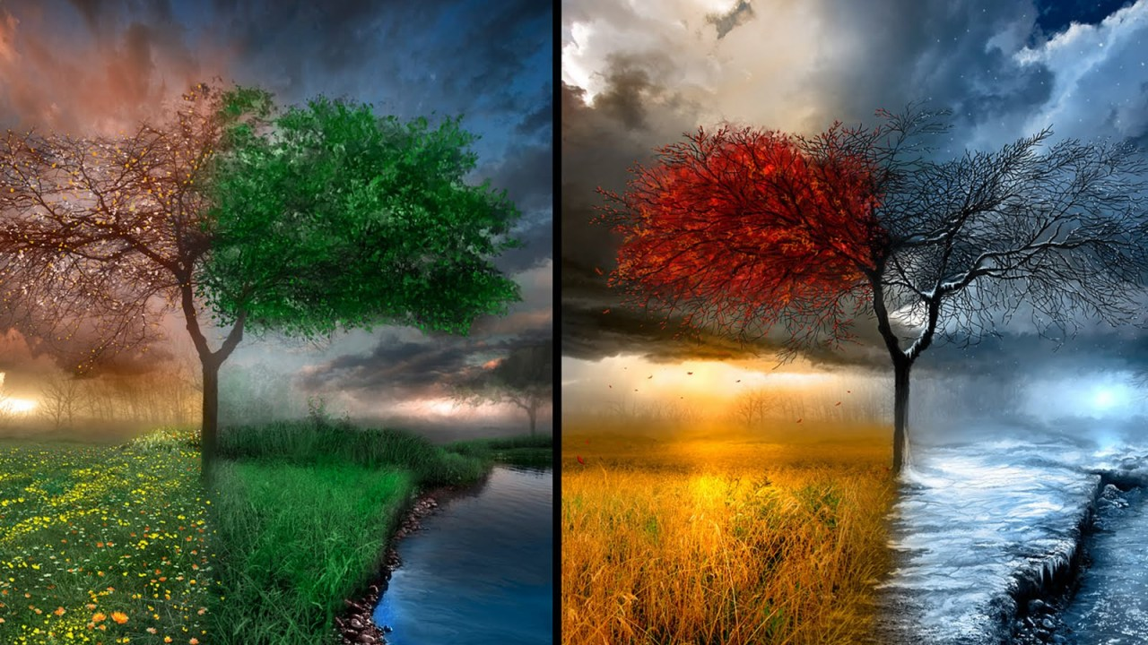 The Seasons they are a Changing