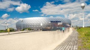 People in Motion at Allianz Arena