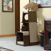 Sauder 416819 MODULAR MODERN CAT TOWER - The Pet Furniture ...