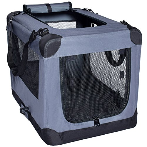 Dog Soft Crate 26 Inch Kennel For Pet Indoor Home