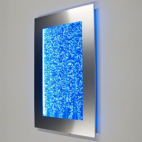 Wall Mount Hanging Bubble Wall Aquarium 30 LED Lighting