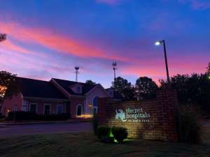 Collierville Office Sunset
