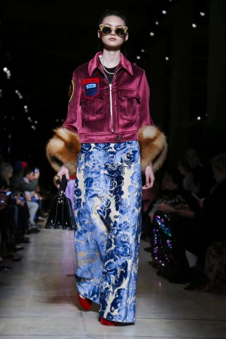 Miu Miu Fashion Show, Ready to Wear Fall Winter 2016 Paris