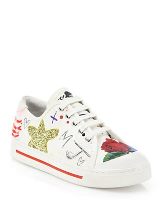 Marc Jacobs 'Christy Pave Lace Up Sneaker'