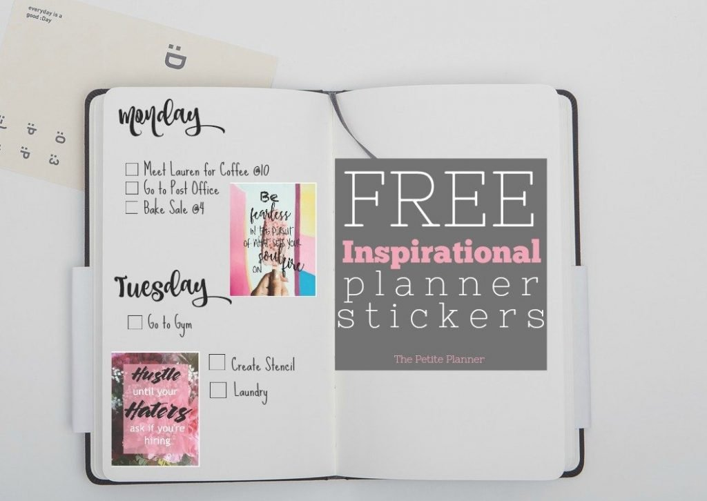 free printable inspirational stickers