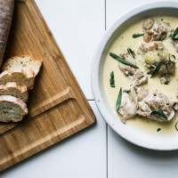Chicken With Vermouth, Tarragon And Cream [Nigel Slater Project #30]