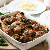 Roast Chicken with Lemon & Basil [Nigel Slater Project #33]