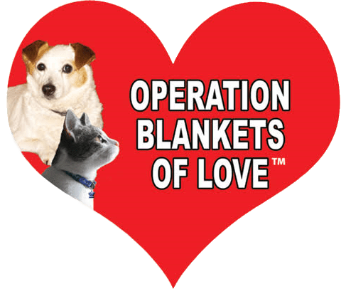 peration blankets of love logo