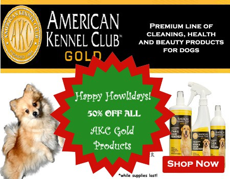 akc gold holiday sale