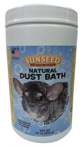 Sun Seed Company Chinchilla Blue Cloud Bath Dust