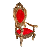 Carved Throne Chair - PHAG