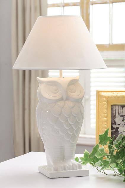 kitchen table base planner dolomite owl lamp - phag