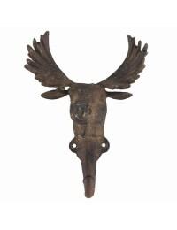 Moose Hook- Decorative Single Wall Hook