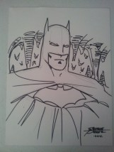 My Perez drawn Batman!