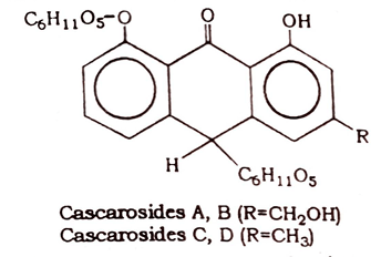 Cascara Sagrada Chemical constituents