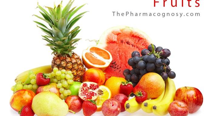 Fruits in Pharmacognosy