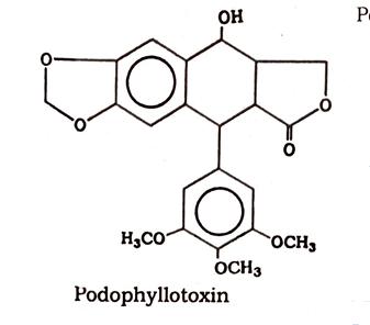 Podophyllum Chemical constituents