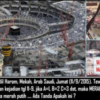 Ajaib, Tanda Aneh Muncul Saat Crane Jatuh di Mekkah 11-9-2015